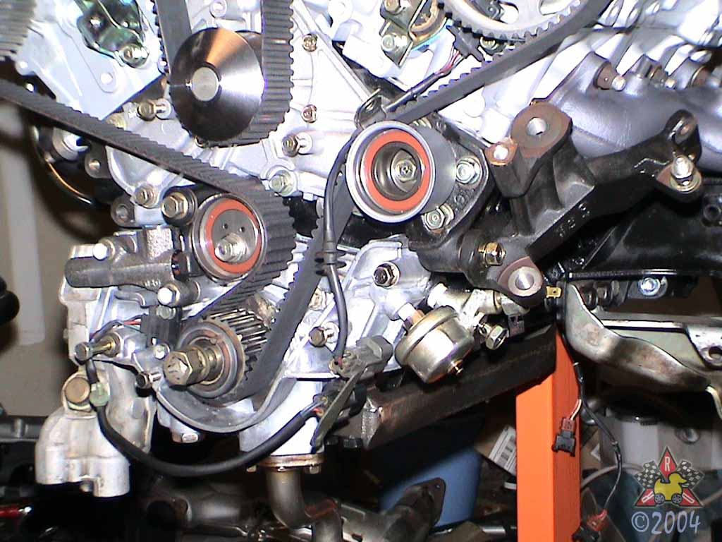 1994 3000GT VR-4: Engine Pictures